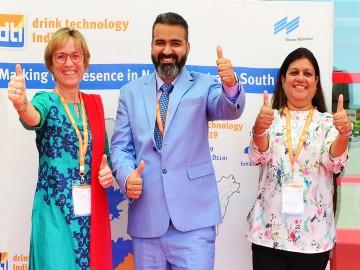 Petra Westphal, Bhupinder Singh and Avisha Desai